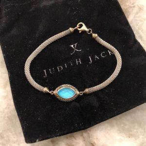 Judith Jack blue stone bracelet